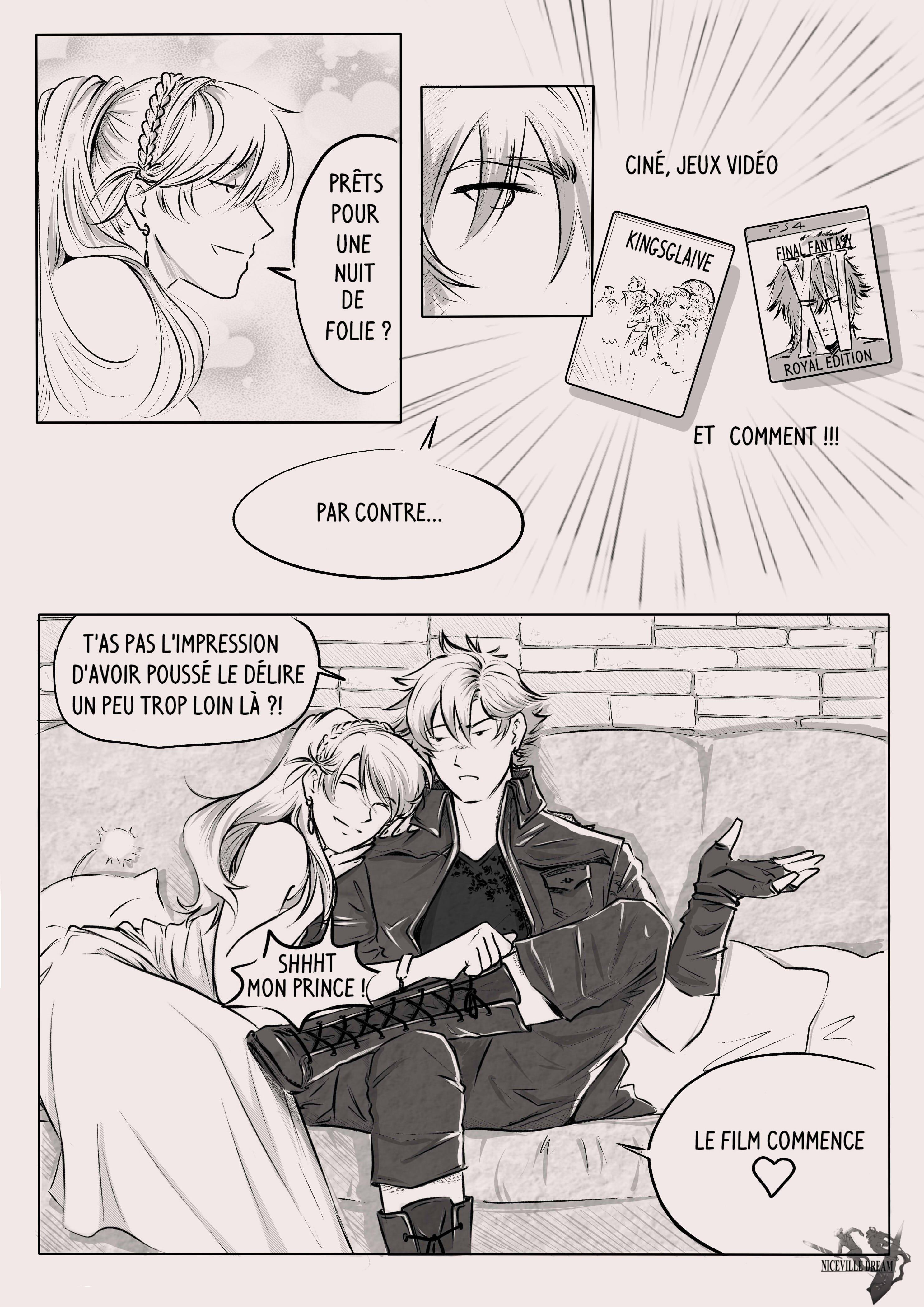 Niceville Dream : Final Fantasy XV jusqu'au bout de la nuit