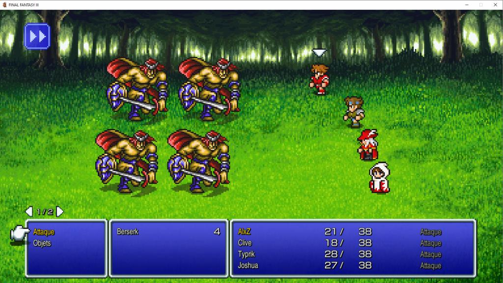 Test Final Fantasy Pixel Remaster: la trilogie du bonheur?
